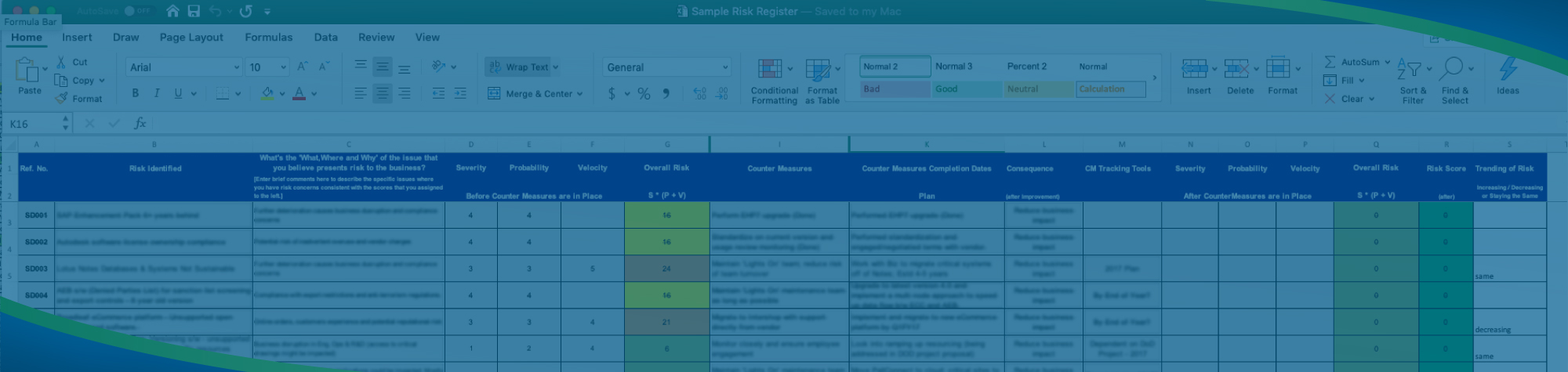 What is a Risk Register?